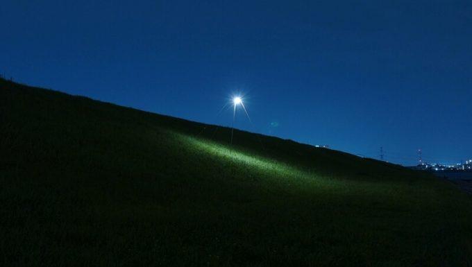 クレイモア ウルトラ ミニの明るさ 電球色