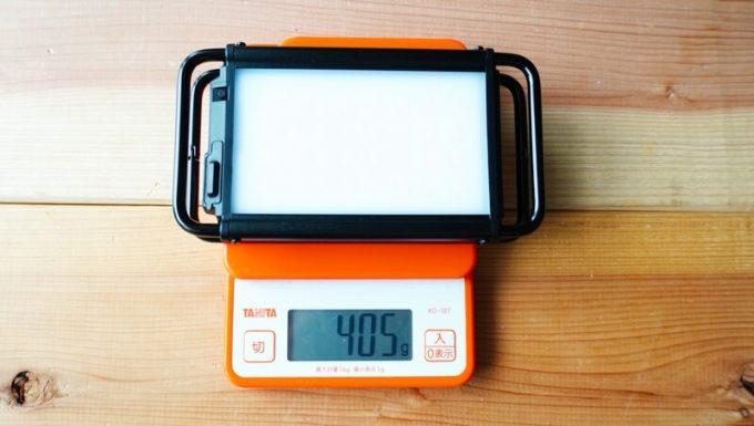 クレイモア ウルトラ プラス Mの重さを測定