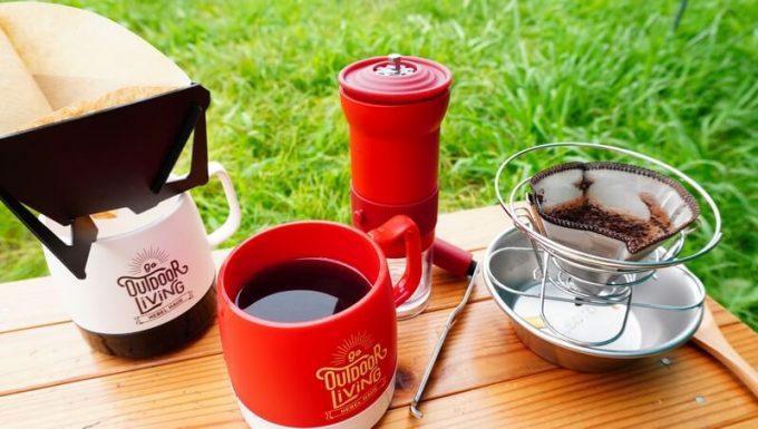 カフラーノのコーヒーミル(クラインダー)でコーヒーを淹れる8 コーヒーが完成