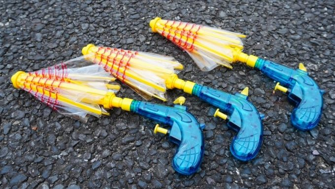 傘の水鉄砲 バトルショット からかさくん