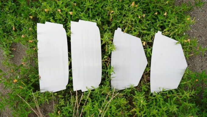 ラプカ風防の部品
