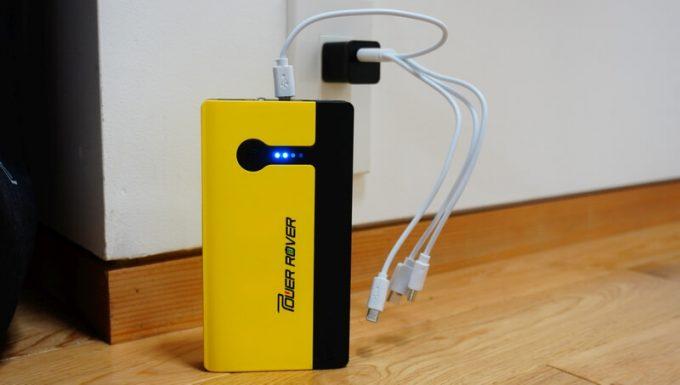 パワーローバーを充電
