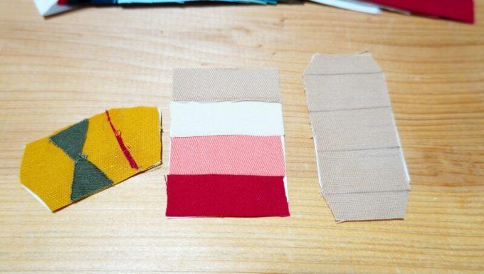 オーダータープ(AllAboutOutdoors)4色とテントの組み合わせ