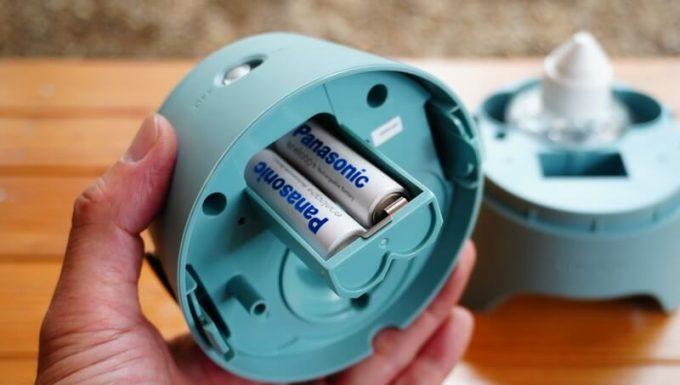 ストロンテック KA・KO・I の使い方 電池を入れる
