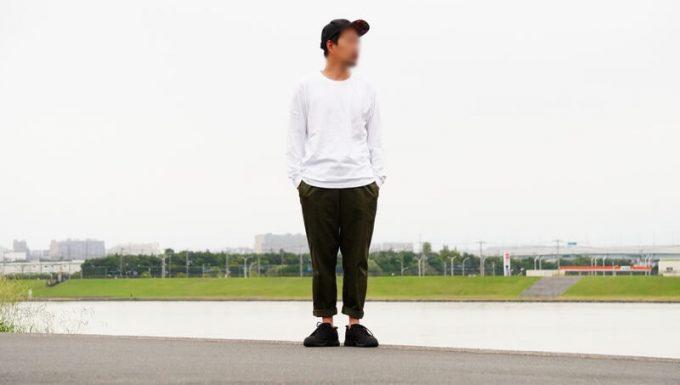 KEEN ジャスパーⅡウォータープルーフのコーデ メンズ ワイドパンツ