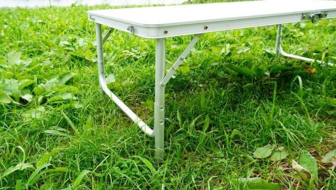 クイックキャンプ 折りたたみテーブルの作り
