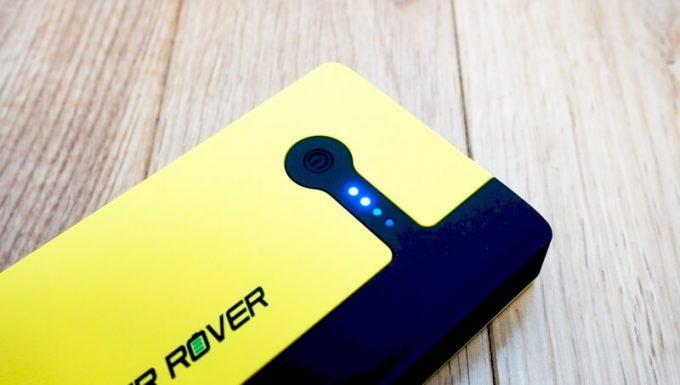 パワーローバーのバッテリー残量