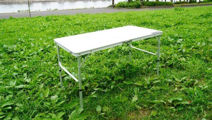 クイックキャンプ 折りたたみテーブルのハイテーブル