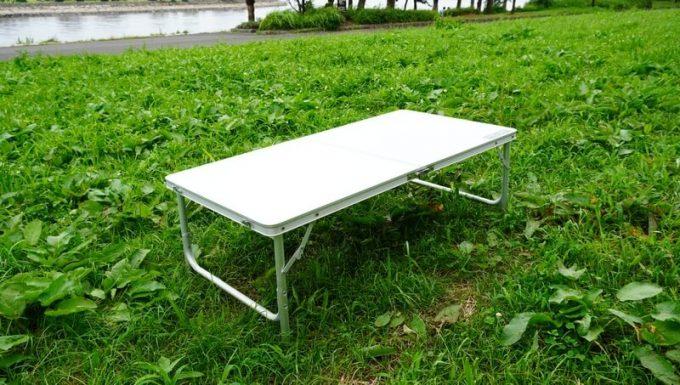 クイックキャンプ 折りたたみテーブルのローテーブル