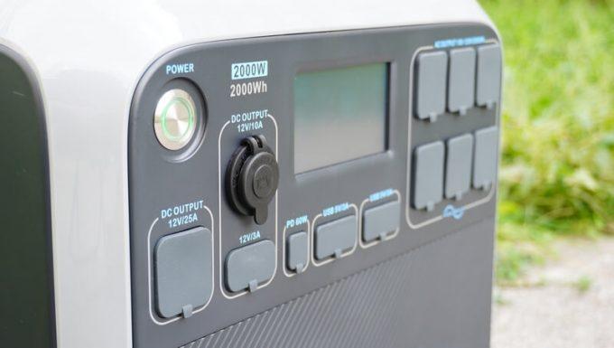 ブルーティ(BLUETTI)AC200の出力端子