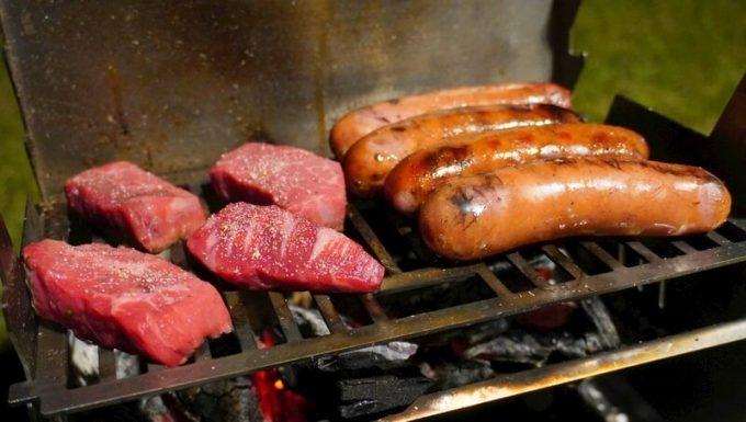 フェネック グリルで焼き肉