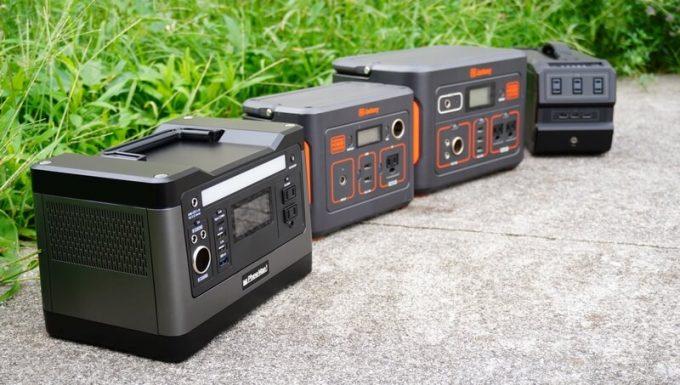 PhewMan500とポータブル電源