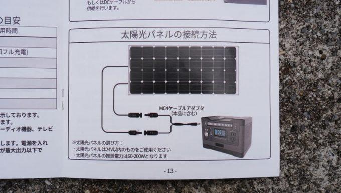 PhewMan500のソーラー充電