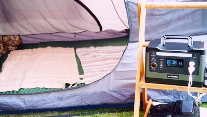 PhewMan500でキャンプで電気毛布を使う