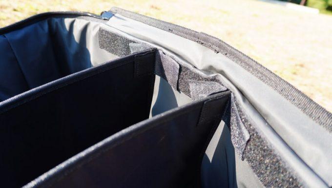 アルバートル マルチギアコンテナ仕切り板の取り付け方法