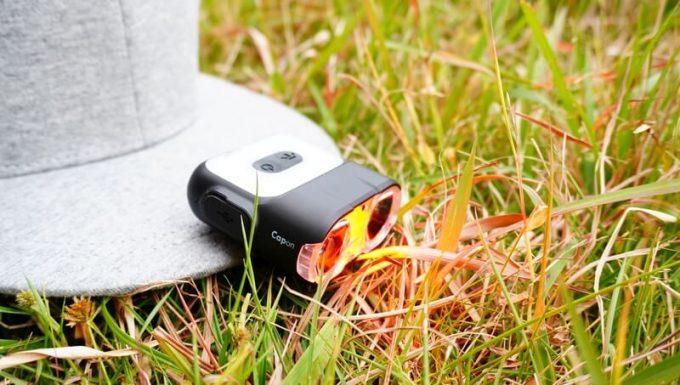 クレイモア キャップオン 120H 赤色LED