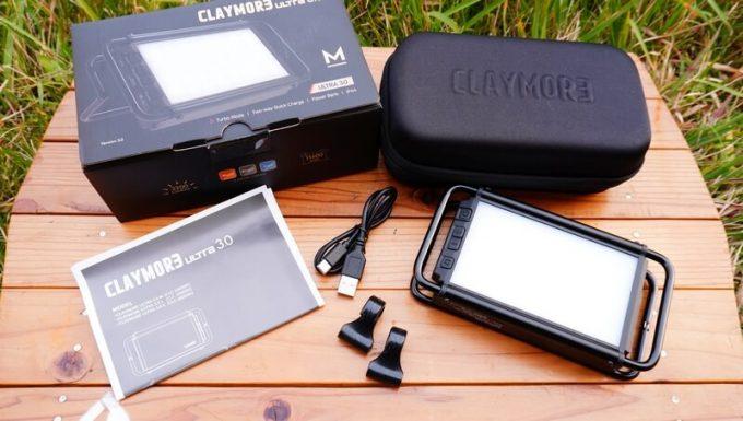 クレイモア ウルトラ 3.0 M の付属品