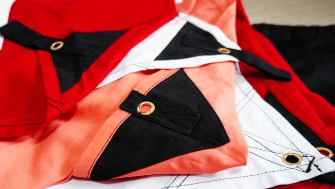 AllAboutOutdoorsのオーダータープの縫製