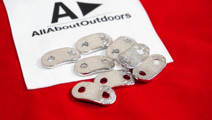 AllAboutOutdoorsのオーダータープの自在金具