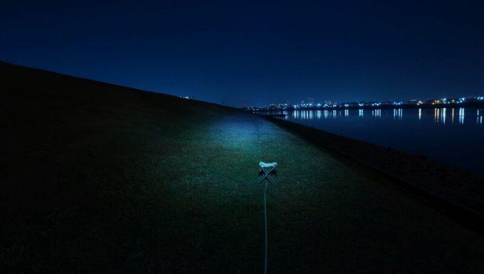 クレイモア キャップオン 120Hの明るさ 焦点ライト最大 照射距離
