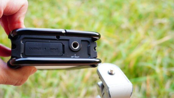 クレイモア ウルトラ 3.0 Mの三脚のネジ穴