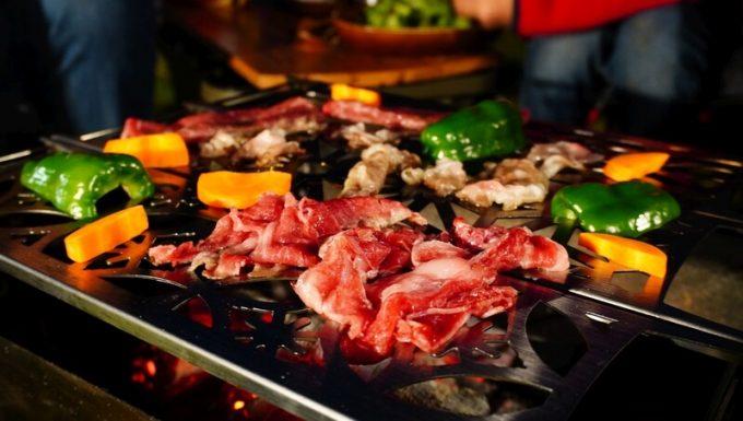 ラプカの焼き網で焼き肉 詳細