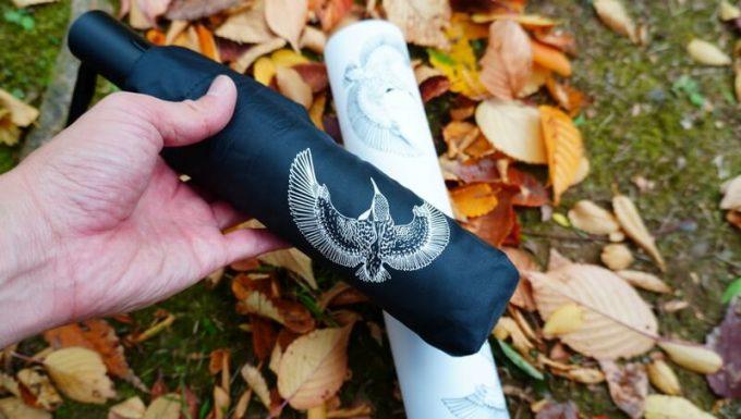 ワンタッチ折りたたみ傘(Nano Easy Fold-up)の収納袋の柄