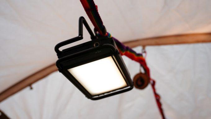 クレイモア ウルトラ 3.0 Mをテントに吊るす