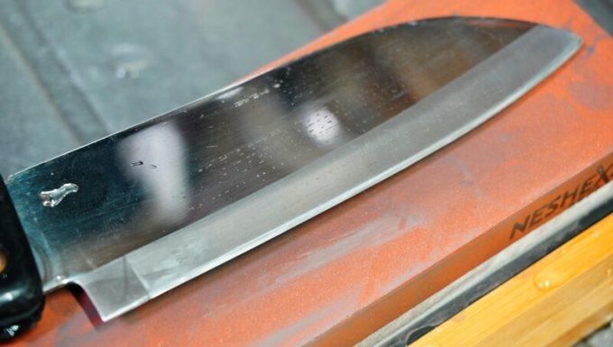 NESHEXSTの中砥石で研いだ刃物