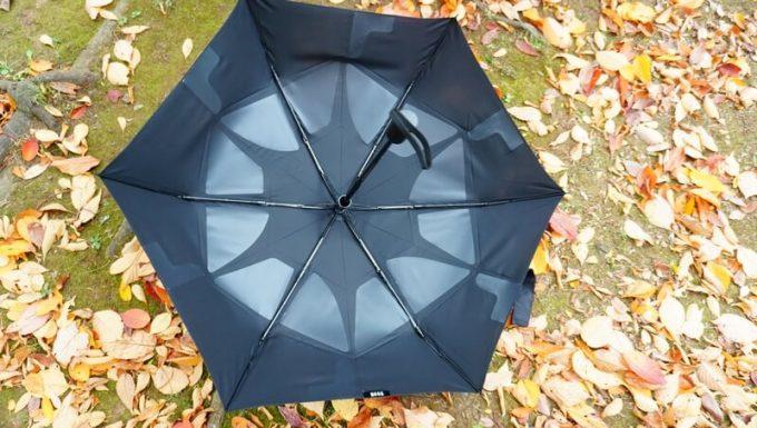 ワンタッチ折りたたみ傘(Nano Easy Fold-up)のPET樹脂
