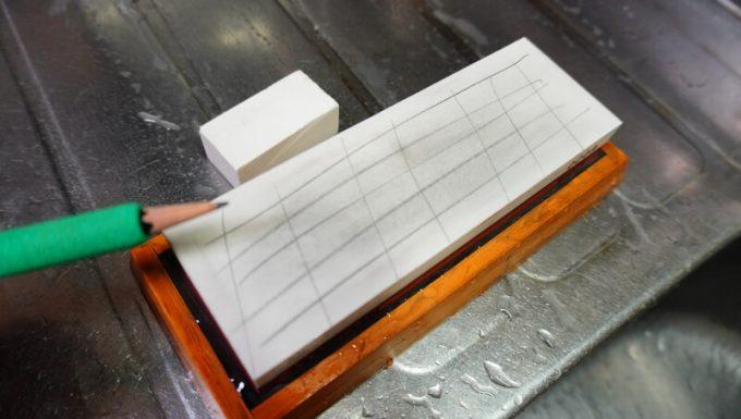 NESHEXSTの砥石セットの面直し砥石の使い方