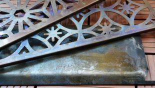 ラプカの長尺鉄板と焼き網は錆びる