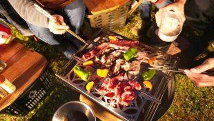 ラプカの焼き網で焼き肉