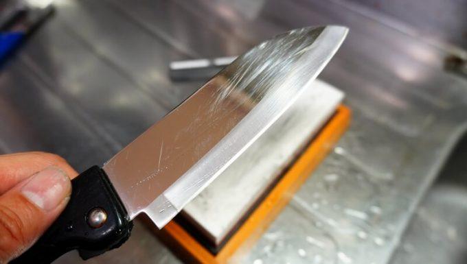 NESHEXSTの仕上げ砥石で研いだ刃物