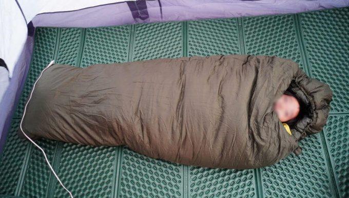 スナグパック ソフティーエリート5で子供(9歳 小学3年生)が寝たサイズ感