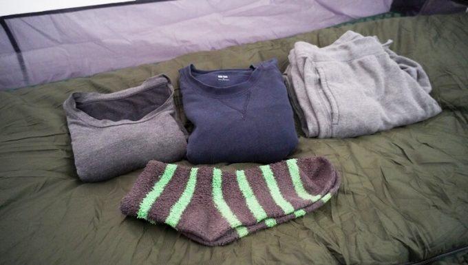スナグパック ソフティーエリート5で真冬に寝た時の服装