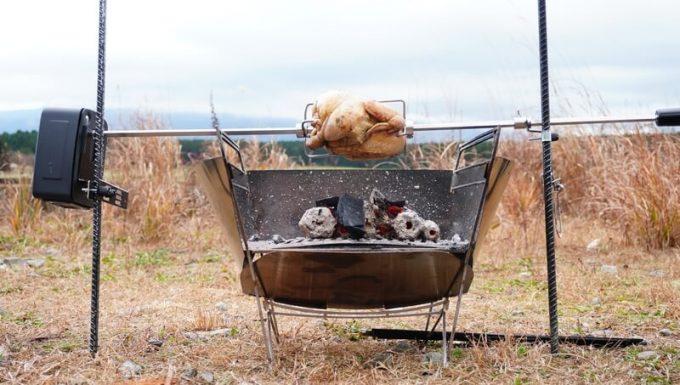 RAPCAでロティサリーでチキンを焼く
