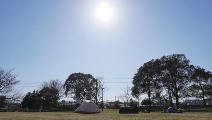 アイパー(Aiper)ソーラーパネル160W SP160で充電した天気 冬晴れ