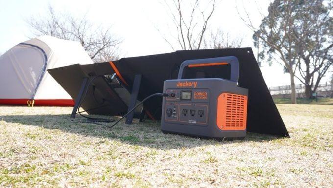 アイパー(Aiper)ソーラーパネル160W SP160でJackery1000を充電