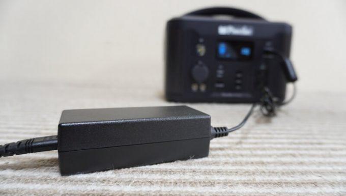 イデアル PhewMan SmartをACコンセントで充電