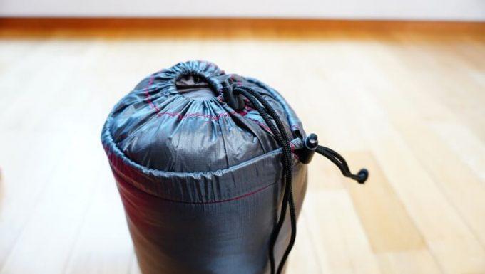 ナンガ(NANGA)の封筒寝袋の袋