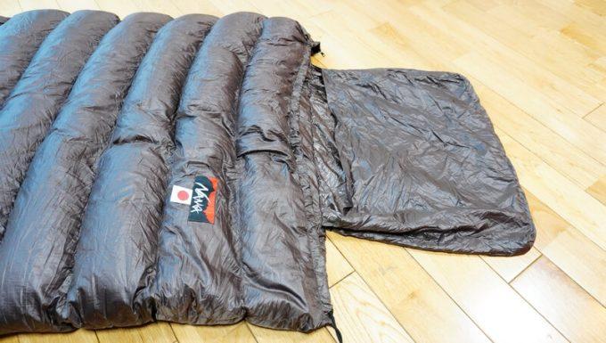 ナンガ(NANGA)の封筒寝袋の内袋