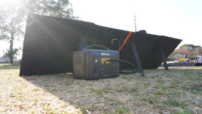イデアル PhewMan Smartをソーラーパネルで充電