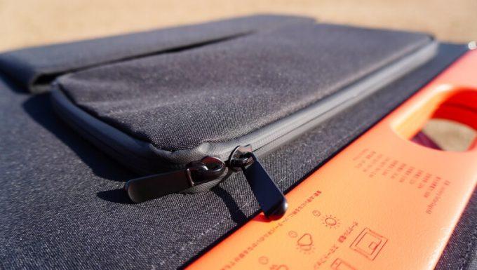 SolarSaga 60 Proの止水ファスナー