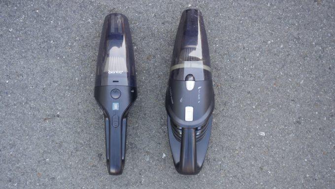 ビアンカプラス(bianca)のハンディクリーナーと旧タイプを比較