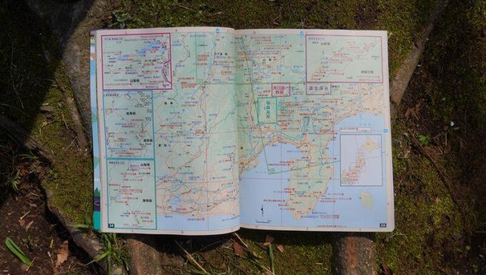 ガルヴィ(GARVY)オートキャンプ場ガイド2021の地図
