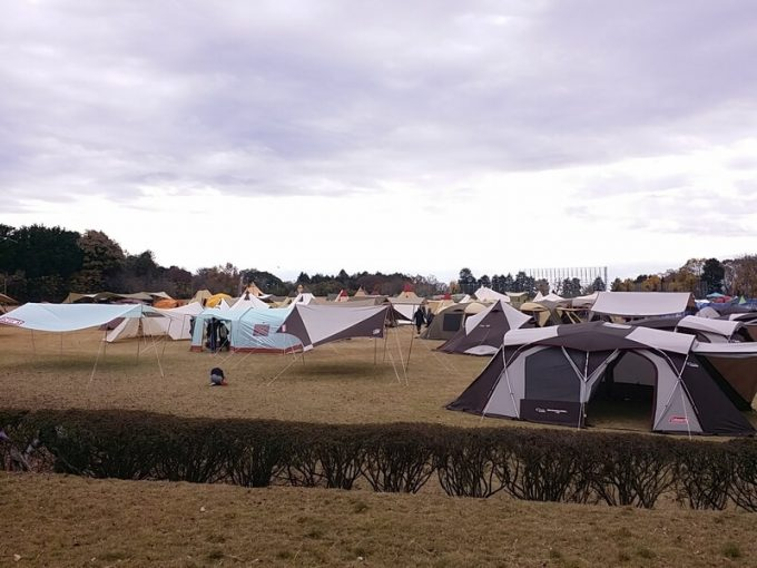 sotosotodays Tent Selectionの会場