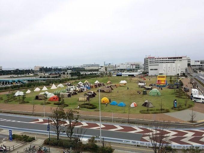 スポーツオーソリティ幕張テント展示会