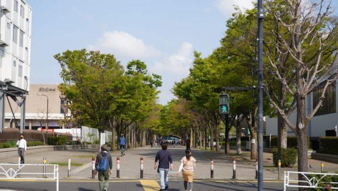 アウトドアデイジャパン東京2021のゲートが無い