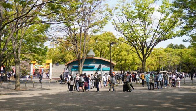 アウトドアデイジャパン東京2021のゲート